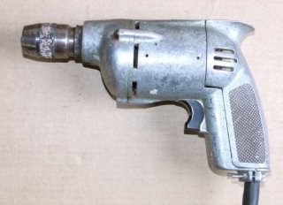 "Early Metabo 1/4"" drill"