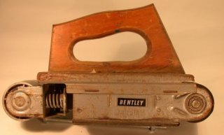Bentley belt sander attachment for electric drills