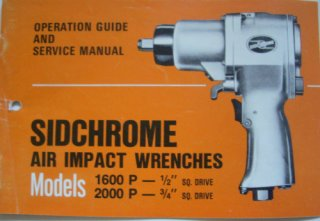 Sidchrome 1600P/2000P Manual