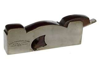 Preston Iron Shoulder Rabbet Plane
