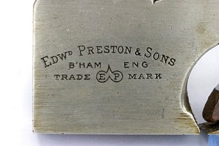 One of the many Edward Preston marks - this one on an Iron Rabbet