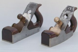 Preston Steel Smooth Planes with Handle - Parallel-sided and Shaped Patterns