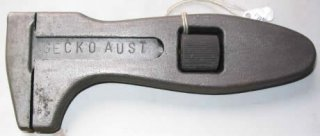 Gecko Australia Fish Belly Adjustable Wrench