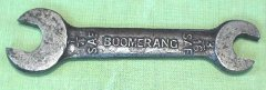 This wrench is a mystery. Can anyone confirm it as Australian made? Any details? Image courtesy of Gerry Scells.