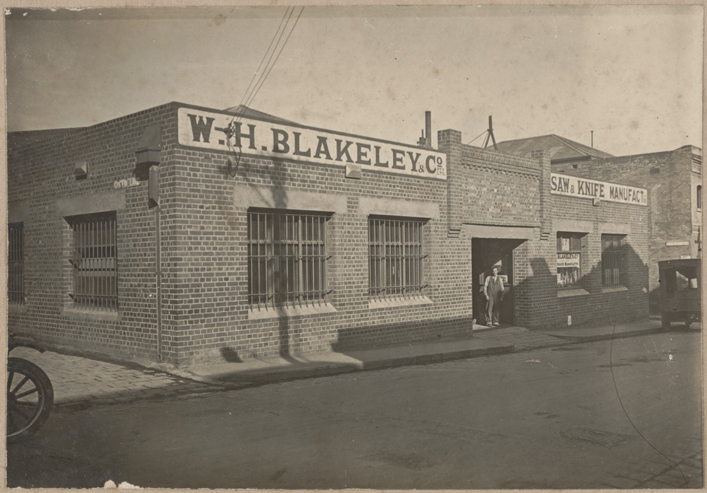 W.H. Blakeley Factory as it was in 1924