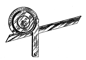 Fig. 13.—A Universal Bevel Protractor.