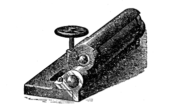 Fig. 15.—Grindstone Truing Device.