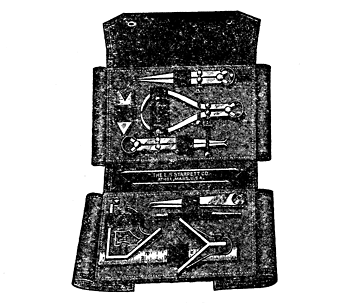 Fig. 16.—Set of Tools and Case.