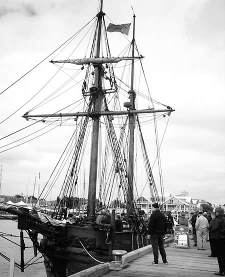 The Enterprize replica at Williamstown