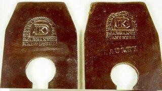 Kimberley Marks on Plane Irons