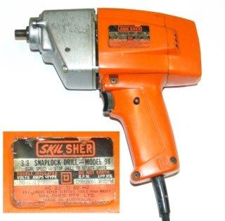 "Skil SHER 3/8"" Snaplock Drill Model 98"
